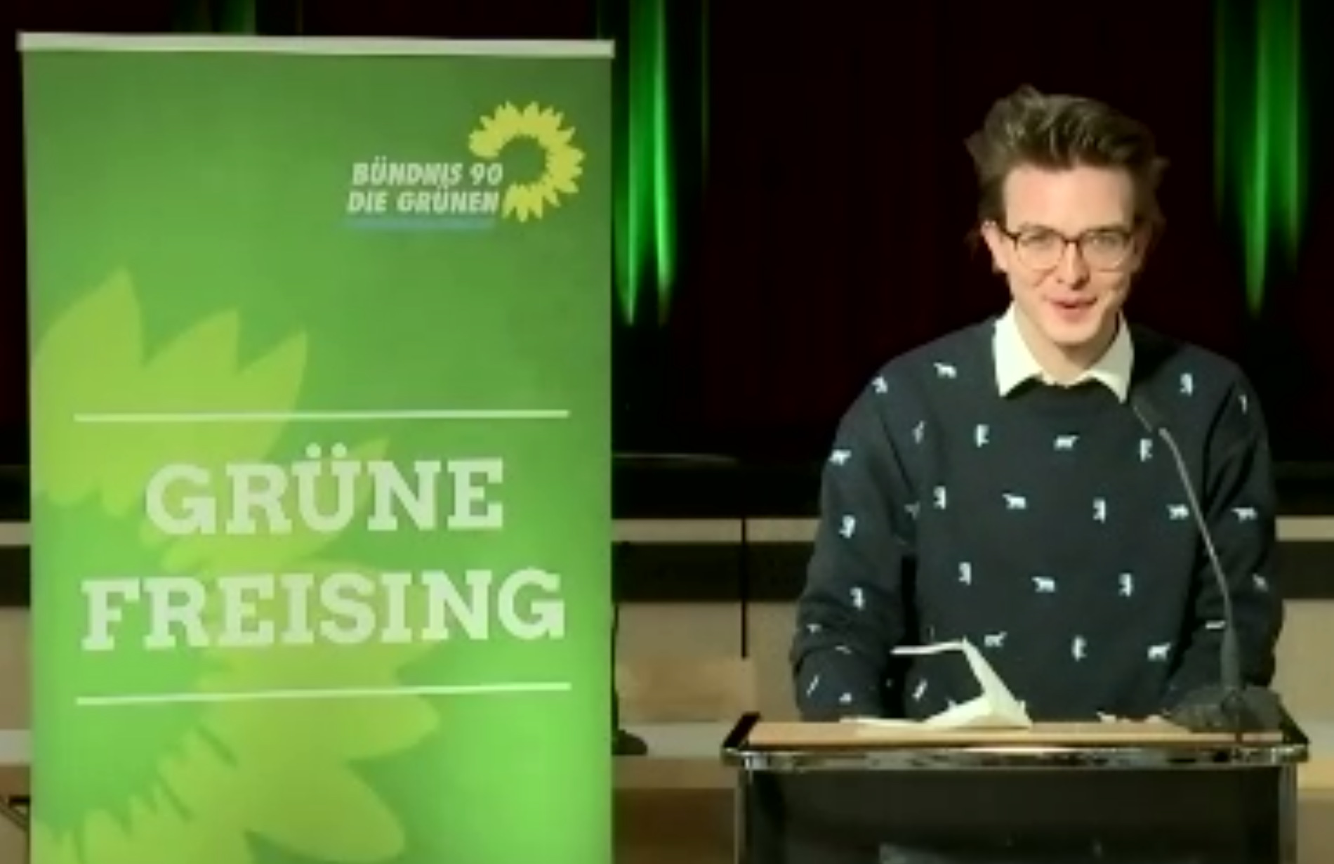 Ein Echinger ist unser vorläufiger Wahlkreiskandidat! Leon Eckert