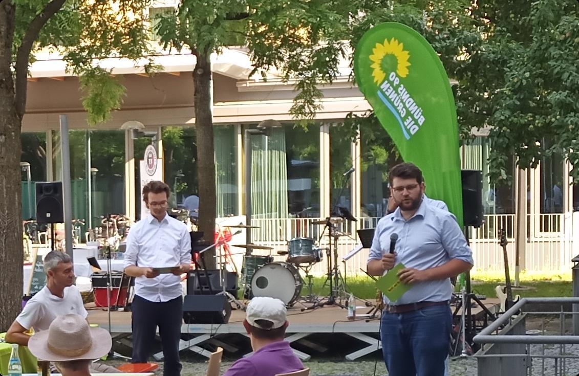Wahlkampfauftakt in Eching